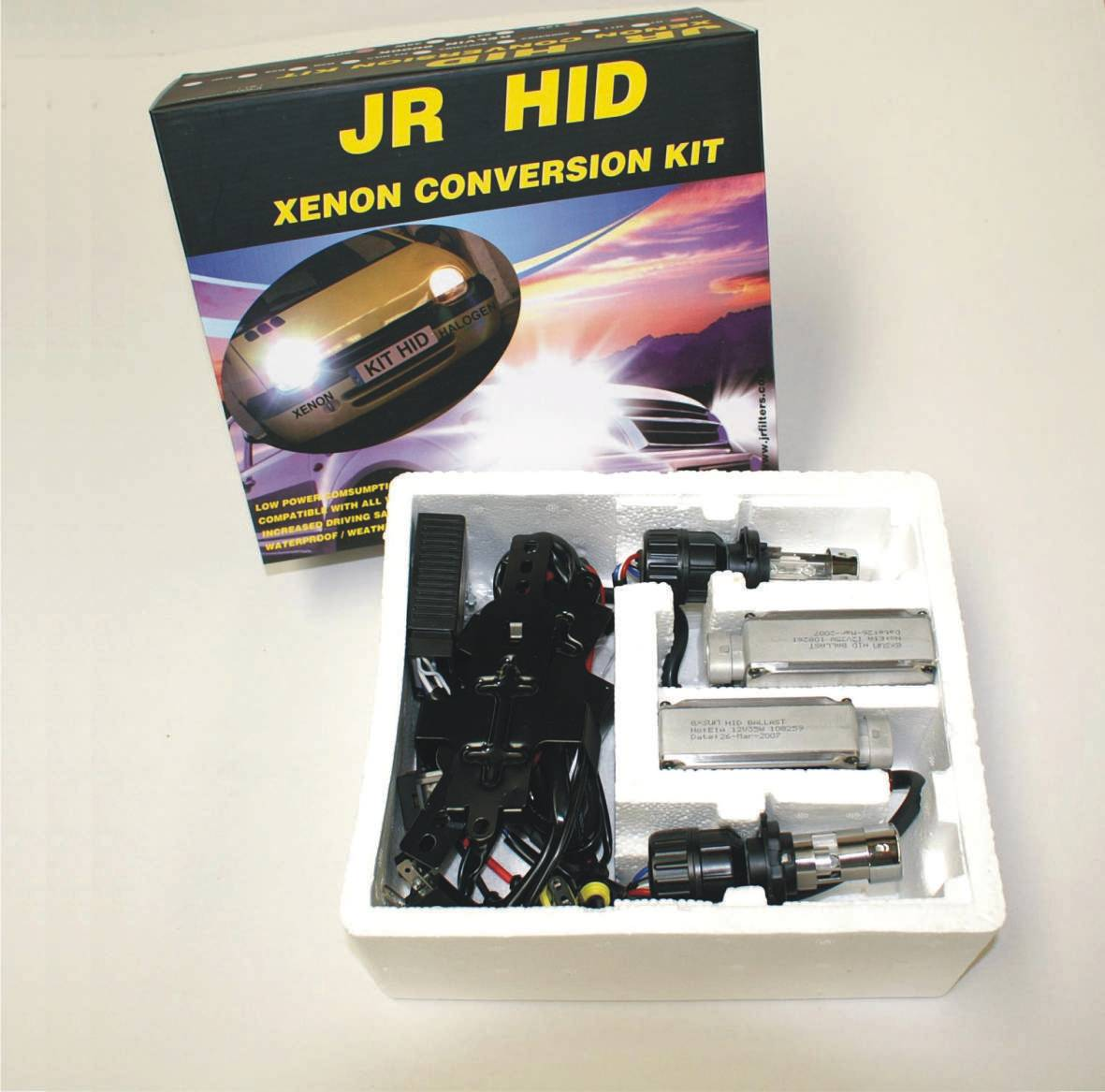 KIT HID AUTO H4+ TELESCOPIC 12V 50W 6000K