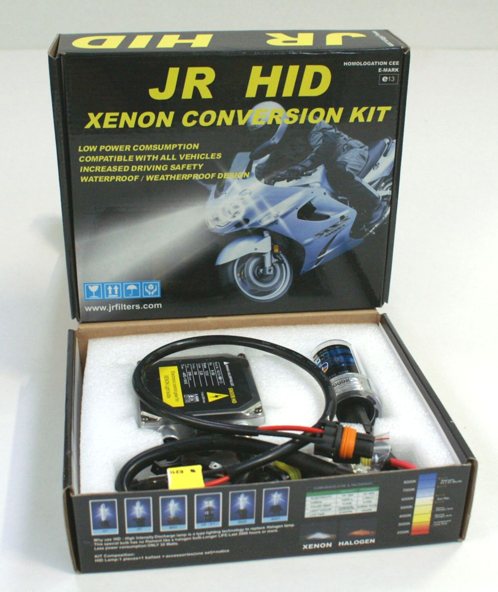 KIT HID MOTO H4 TELESCOPIC 12V 35W 6000K